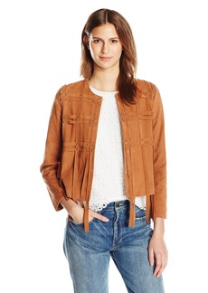 Haute Hippie Women's The Plaid Harness Jacket