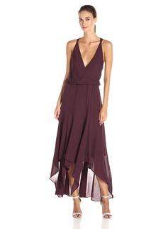 Haute Hippie Women's Wrap Dress No Leather Inset