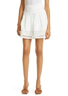 Haute Hippie Woven Miniskirt