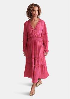 Haute Hippie Jessica Floral Maxi Dress