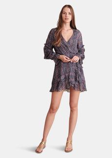 Haute Hippie Kenzie Wrap Front Mini Dress