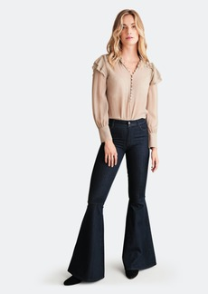 Haute Hippie Crystal Fit And Flare Jean