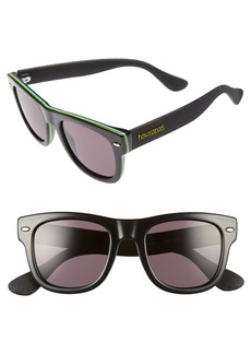Havaianas Brasil 50mm Square Sunglasses