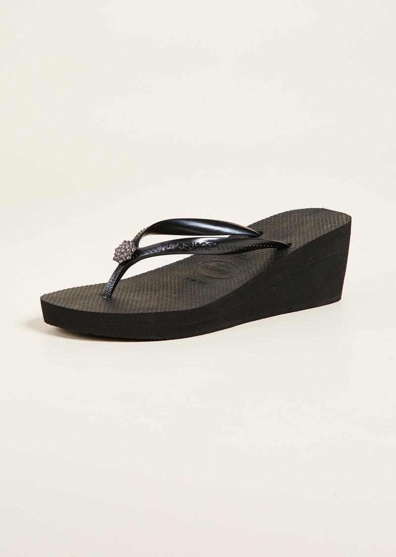 cc1ed845952a2e Havaianas Havaianas High Fashion Poem Wedge Sandals