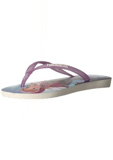 Havaianas Kid's Slim Flip Flop Sandals Frozen (Toddler/Little Kid) 33/34 BR (3-4 M US Little Kid)