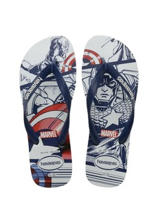 Havaianas Kids Top Marvel Flip Flop Sandal Women's Shoes