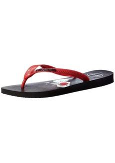 Havaianas Looney Tunes Sandal Black/RED (( M US Men's)