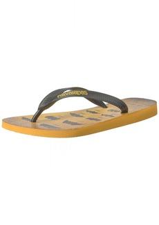 Havaianas Men's Batman Flip Flop Sandal 41/42 BR(11-12 M US Women's / 9-10 M US Men's)