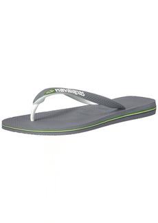 Havaianas Men's Brazil Mix Flip Flop Sandal 39/40 BR(9-10 M US Women's / 7-8 M US Men's)