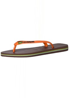 Havaianas Men's Flip-Flop Sandals Brazil Logo