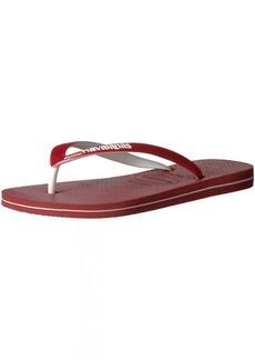 Havaianas Men's Flip Flop Sandals USA LogoRed39 BR/ M US