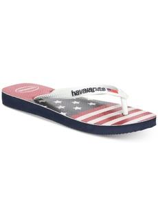 Havaianas Men's Stars and Stripes Flip Flops Men's Shoes