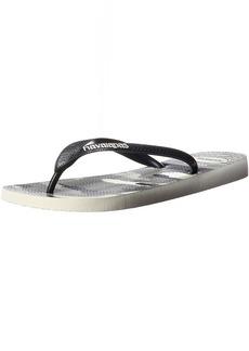 Havaianas Men's Top Illusion Flip Flop Sandal 39/40 BR(9-10 M US Women's /  M US Men's)