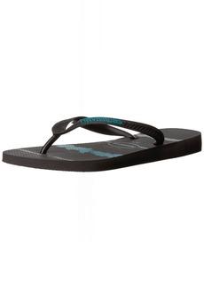 Havaianas Men's Top Tropical Glitch Flip Flop Sandal 43/44 BR(12-13 M US Women's / 11-12 M US Men's)