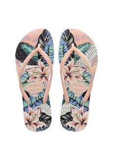 Havaianas Slim Animal Flip Flop (Toddler & Little Kid)