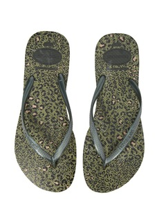 Havaianas 'Slim Animal Print' Flip Flop (Women)