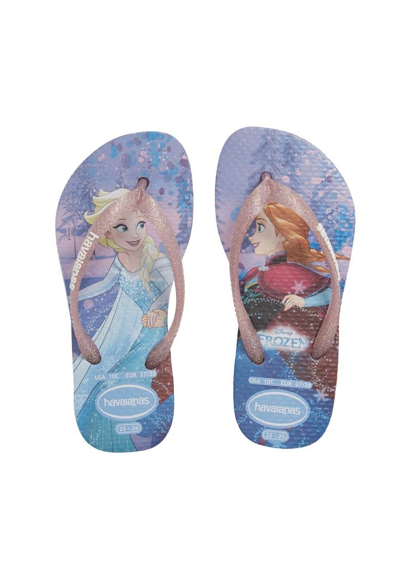 Havaianas Slim 'Frozen' Flip Flop (Toddler & Little Kid) (Nordstrom Exclusive)