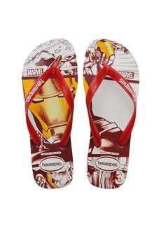 Havaianas Top Marvel Flip Flop (Toddler & Little Kid)