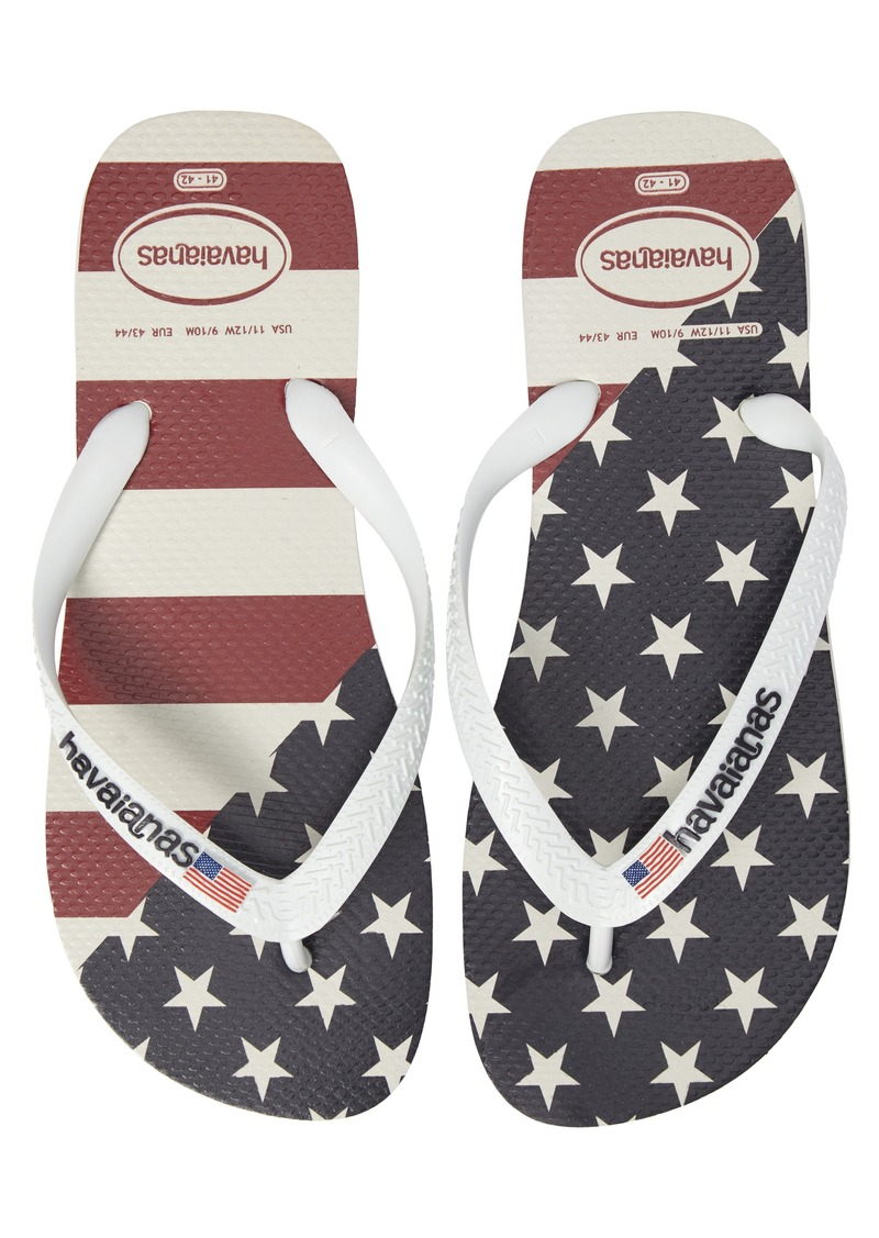 3437ca26b77395 Havaianas Havaianas Top Mix USA Flag Flip Flop (Men)