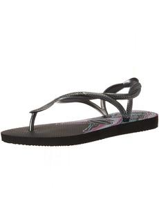 Havaianas Women's Flip Flop Sandals Luna Print Ocean Scenes39/40 BR (9-10 M US)