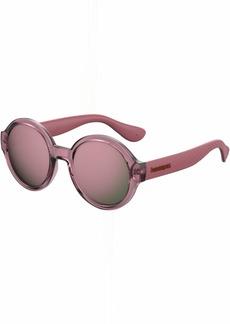 Havaianas Women's Floripa/m Round Sunglasses OPLE BURG 51 mm