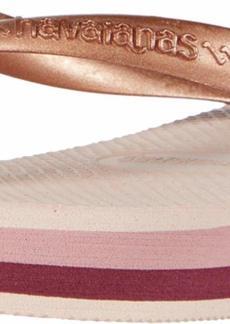 Havaianas Women's High Light Flip Flop Sandal ballet rose 11/12 M US