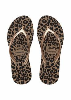 Havaianas Women's High Light II Flip Flop Sandal   M US