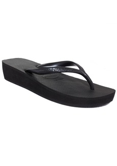 Havaianas Women's Highlight Wedge Flip-Flop Sandals Women's Shoes