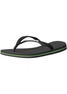 Havaianas Women's Slim BrazilFlip Flop Sandal 39/40 BR(9-10 M US Women's / 8 M US Men's)