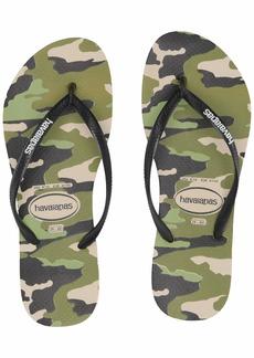 Havaianas Women's Slim Camo Flip Flop Sandal 41/42 BR(11-12 M US Women's / 9-10 M US Men's)