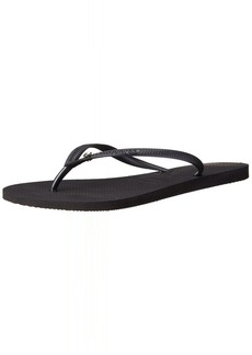 Havaianas Women's Slim Crystal Glamour Flip Flop Sandal 39/40 BR(9-10 M US Women's / 8 M US Men's)