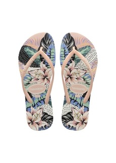 Havaianas Women's Slim Floral Dots Flip Flop Sandals Women's Shoes