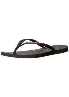 Havaianas Women's Slim Logo Metallic Leaf Flip Flop Sandal 39/40 BR(9-10 M US Women's / 8 M US Men's)