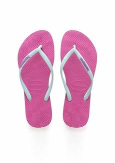 Havaianas Women's Slim Logo Pop-Up Flip Flop Sandal  11/12 M US