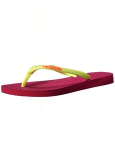 Havaianas Women's Slim Logo Pop Up Multicolored Flip-Flop Sandals