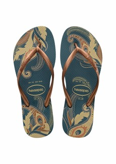 Havaianas Women's Slim Organic Flip Flop Sandal  37/38 BR ( M US)