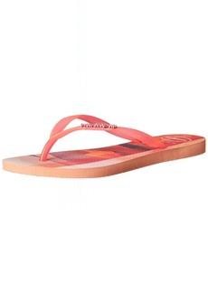 Havaianas Women's Slim Paisage Flip Flop Sandal  11/12 M US
