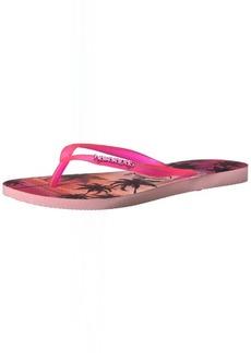 Havaianas Women's Slim Paisage Sandal Flip Flop  37 BR/7/8 W US