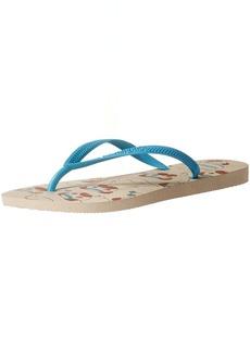 Havaianas Women's Slim Pets Flip Flop Sandal 41/42 BR(11-12 M US Women's / 9-10 M US Men's)