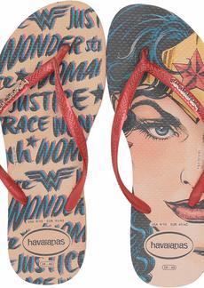 Havaianas Women's Slim Wonder Woman Flip Flop Sandal  9/10 M US