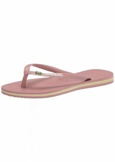 Havaianas Women's Slip-On Flip-Flop CROCUS ROSE