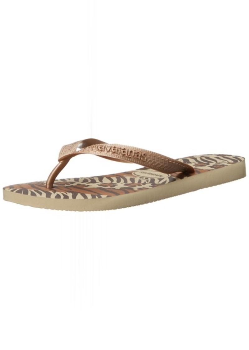 Havaianas Women's Top Animals Flip Flop Sandal 41/42 BR(11-12 M US Women's / 9-10 M US Men's)