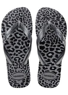 Havaianas Women's Top Animals Flip Flops Women's Shoes