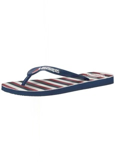 Havaianas Women's Top USA Stripe  Flip Flop