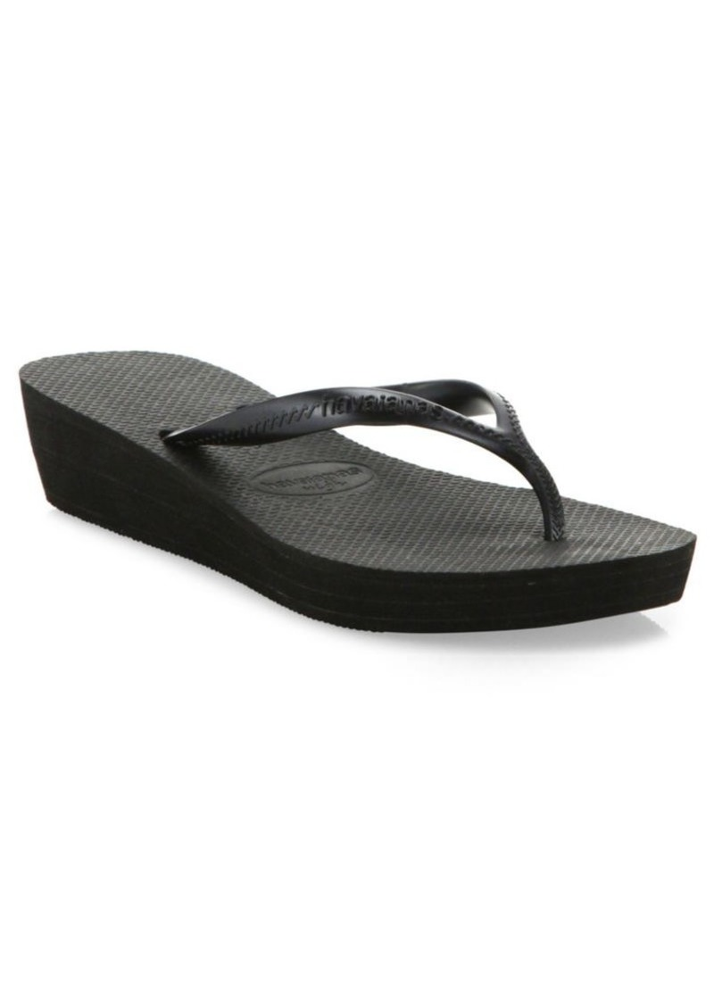 Havaianas High Light Wedge Flip-Flops