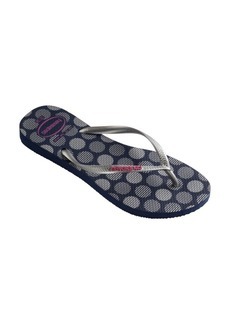 Havaianas Slim Retro Rubber Thong Sandals