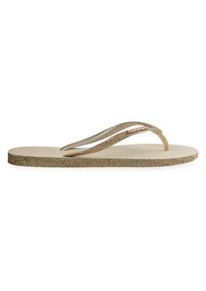 Havaianas Slim Sparkle Flip Flops