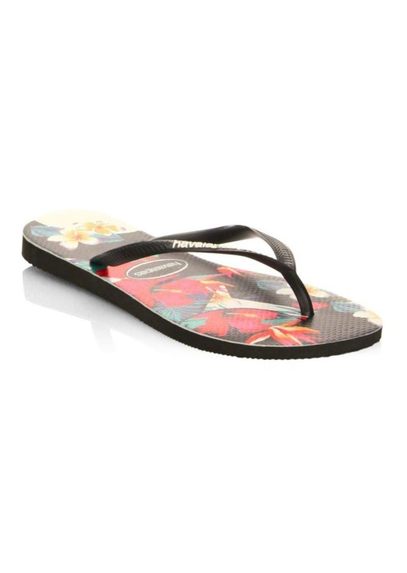 43077fe64ace Havaianas Slim Tropical Flip Flops