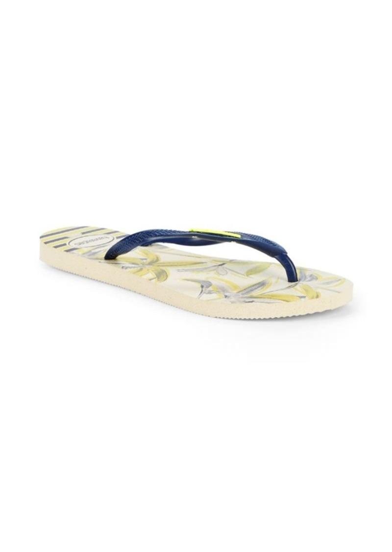 ff68ff419dfb Havaianas Slim Tropical Flip Flops
