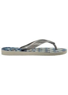 Havaianas Spring Metallic Rubber Flip Flops